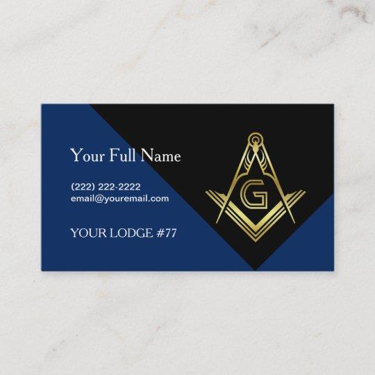 Modern masonic business cards custom freemasonry business card modern masonic business cards custom freemasonry business card colourmoves