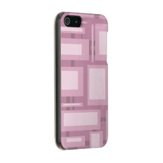 Modern Mauve Abstract Incipio Feather® Shine iPhone 5 Case