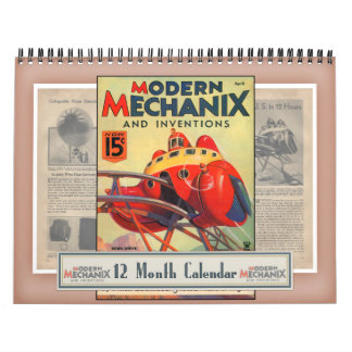Modern Mechanix & Inventions Calendar