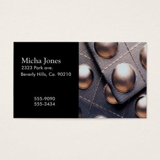 Modern Medicine Foil Package Business Card