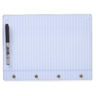 Modern memory assistance dry erase board with keychain holder