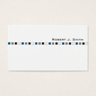 Modern Men's Business Card