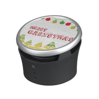 Modern Merry Christmas Design Speaker
