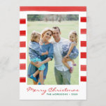 """Modern Merry Christmas Family Photo Holiday<br><div class=""""desc"""">Modern Merry Christmas Family Photo Holiday Card</div>"""
