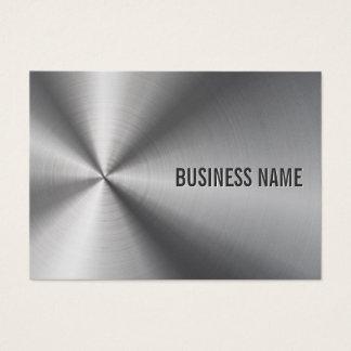 Modern Metal Professional Bold & Elegant Business Card