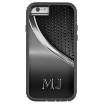 Modern Metallic Look Monogrammed Tough Xtreme iPhone 6 Case