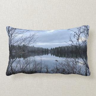 Modern Michigan Landscape Pillow