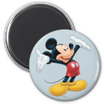 Modern Mickey | Airbrushed 2 Inch Round Magnet