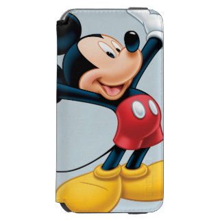 Modern Mickey | Airbrushed iPhone 6/6s Wallet Case
