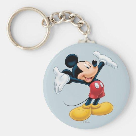 Modern Mickey | Airbrushed Keychain
