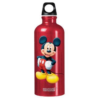 Modern Mickey | Hands on Hips Aluminum Water Bottle