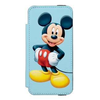 Modern Mickey | Hands on Hips iPhone SE/5/5s Wallet Case