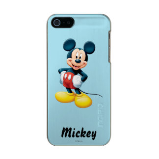 Modern Mickey | Hands on Hips Metallic Phone Case For iPhone SE/5/5s