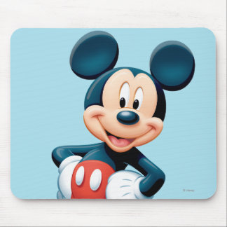 Modern Mickey | Hands on Hips Mouse Pad