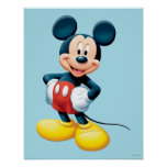 Modern Mickey   Hands on Hips Poster