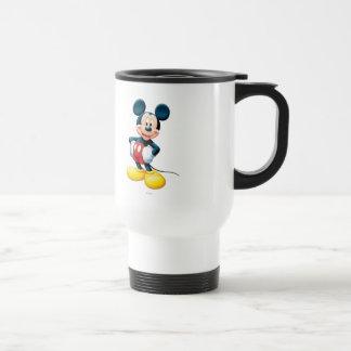 Modern Mickey | Hands on Hips Travel Mug