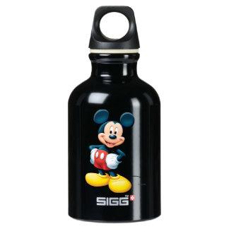 Modern Mickey | Hands on Hips Water Bottle