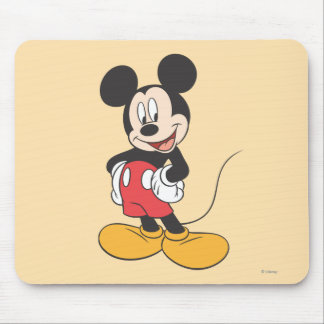 Modern Mickey | Side Hands on Hips Mouse Pad