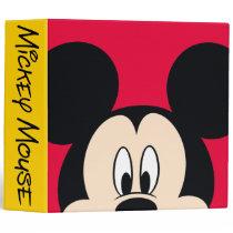 Modern Mickey | Smiling Head 3 Ring Binder