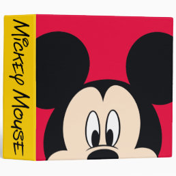 Modern Mickey | Smiling Head 3 Ring Binder
