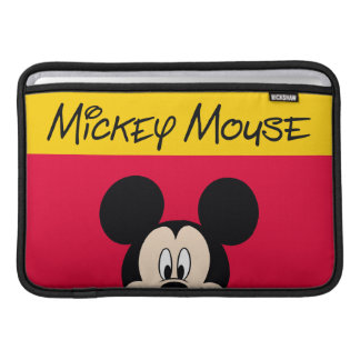 Modern Mickey | Smiling Head MacBook Sleeve