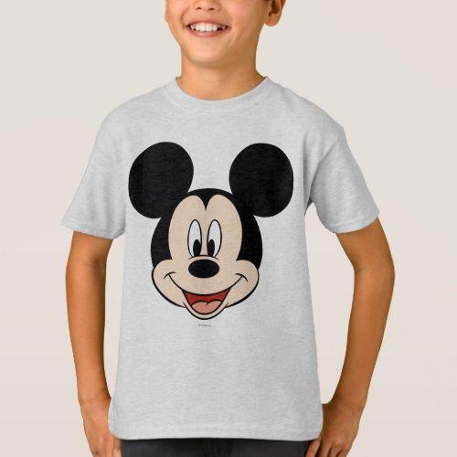 Modern Mickey  Smiling Head T_Shirt