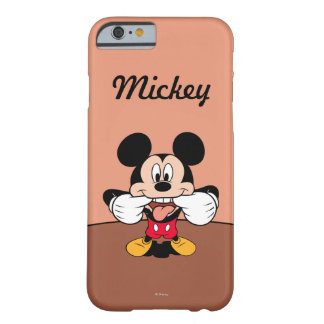 Modern Mickey | Sticking Out Tongue Barely There iPhone 6 Case