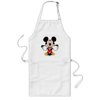 Modern Mickey | Sticking Out Tongue Long Apron