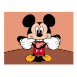 Modern Mickey | Sticking Out Tongue Postcard