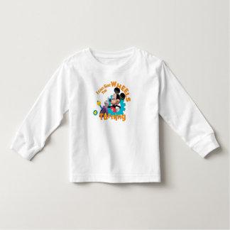 Modern Mickey   Wheels Turning T Shirt
