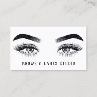 Modern Microblading , Eyebrows,  Permanent Makeup Business Card