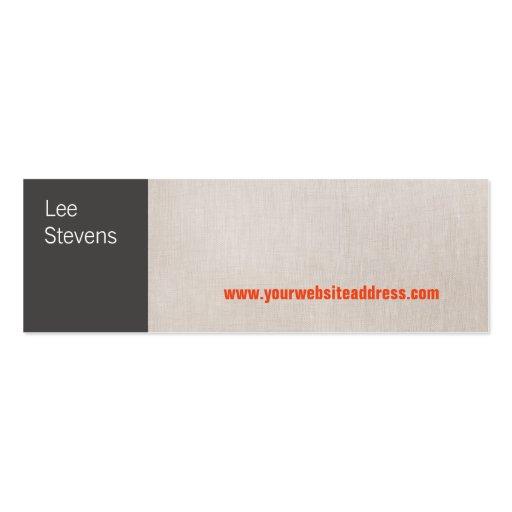 Modern Mini Business Card