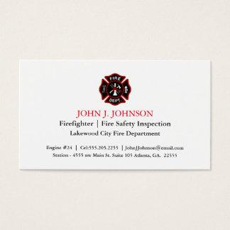 firefighter business cards 400 firefighter business card templates