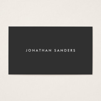MODERN & MINIMAL No. 2 Business Card