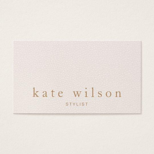 Modern minimalist blush pink leather professional business card modern minimalist blush pink leather professional business card reheart Gallery
