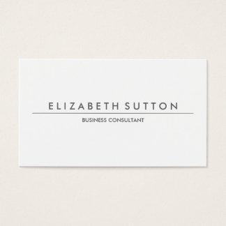 Modern Minimalist | Business Card