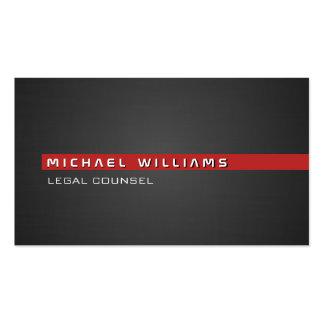 MODERN MINIMALIST ELEGANT LAWYER ADVISORY LEGAL BUSINESS CARD