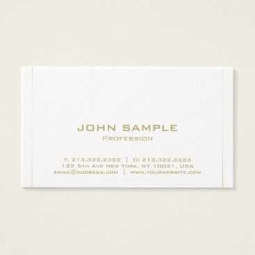 Lawyer Themed Modern Minimalist Elegant Plain Premium Luxury Business Card