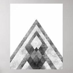 Modern minimalist geometric art print