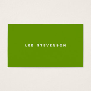 Lime green business cards templates zazzle modern minimalistic lime green business card reheart Choice Image