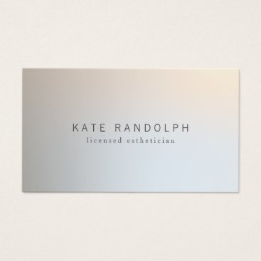 sm_business_cards Modern Minimalistic Professional Luminous Silver Business Card