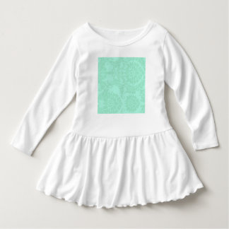 Modern Mint Damask Wedding Customize Shirt