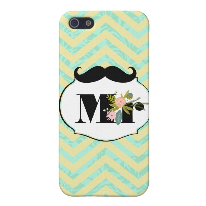 Modern Mint  Damask Wedding Invite iPhone SE/5/5s Cover