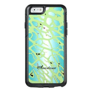 Modern Mint Green Aqua Blue Eco Friendly Design OtterBox iPhone 6/6s Case