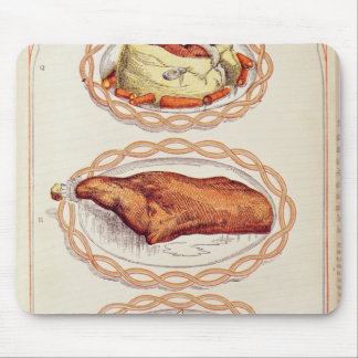 Modern Mode of Serving Dishes, from Mrs. Beaton Mouse Pad