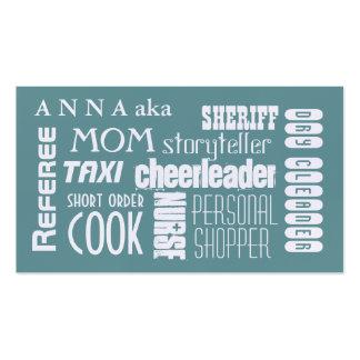Modern Mom calling card