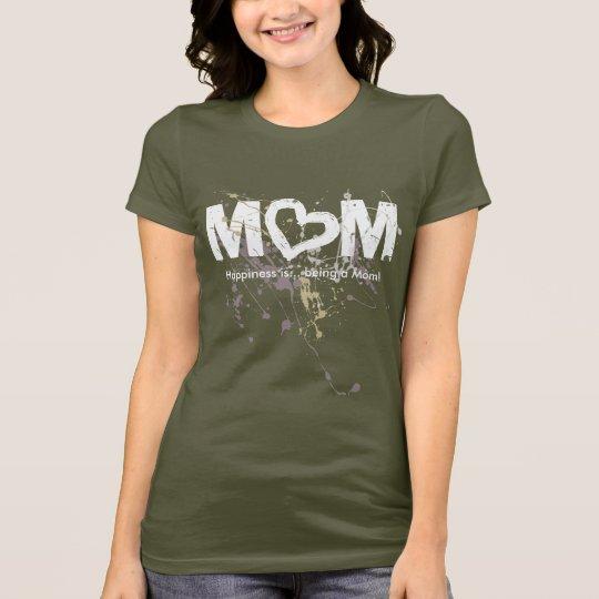 Modern Mom, O Heart Design T-Shirt