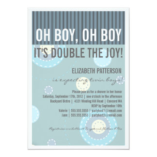 Twin Boys Baby Shower Gifts On Zazzle