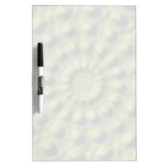 Modern mono colored dry erase board