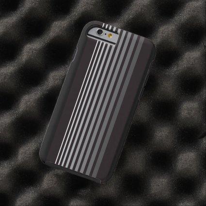 Modern Monochrome Gradient Vertical Stripes